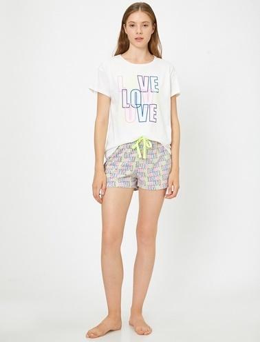 Koton Pijama Takım Renkli